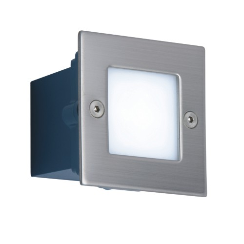 Kabalo LED BRICK WALL LIGHT 70MM MINI SQUARE COOL WARM WHITE MAINS HIGH OUTPUT OUTDOOR